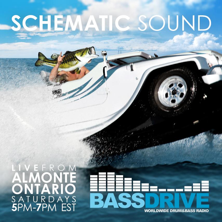 Schematic Sound LIVE on Bassdrive 08-24-19