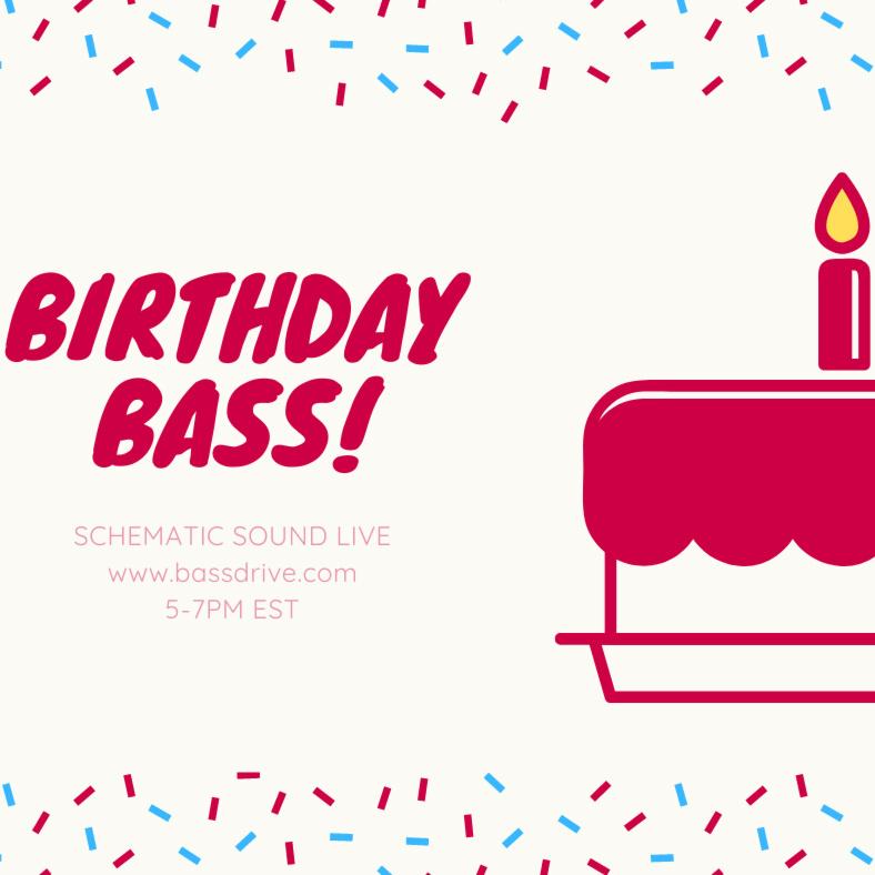 Schematic Sound LIVE Birthday Bash on Bassdrive 10-03-2020