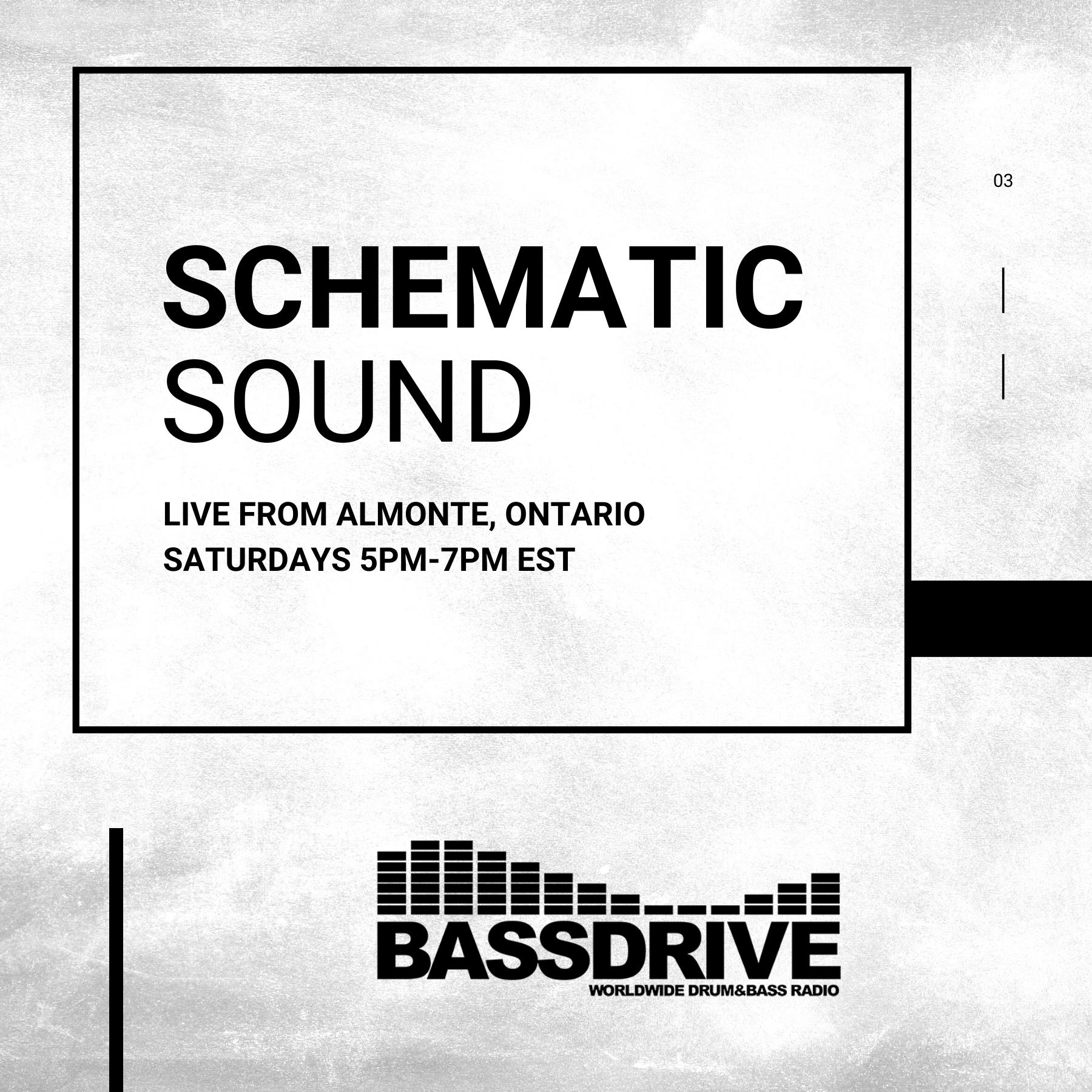 Schematic Sound LIVE on Bassdrive 01-09-2021
